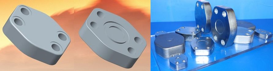 SAE Closed Flanges