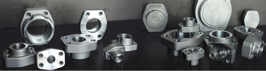 SAE-NPT-thread-flanges