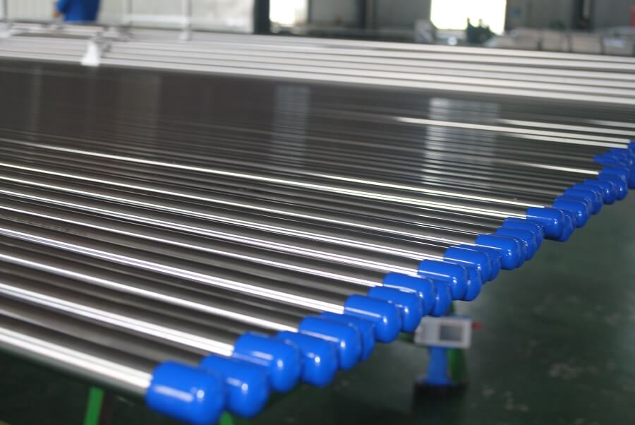 Bright annealed high purity stainless steel tubing