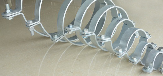 DIN 3567 steel pipe clamps