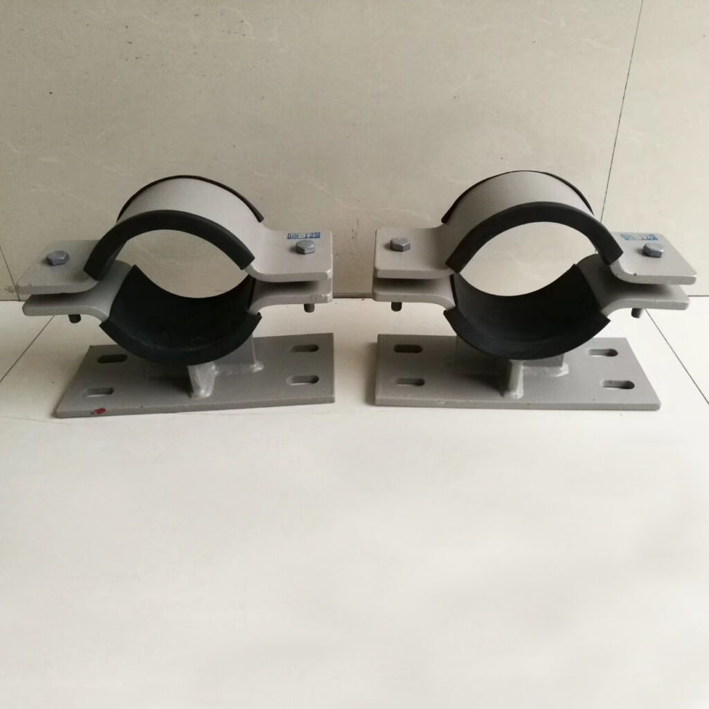 customized steel pipe clamp, pipe support bracket