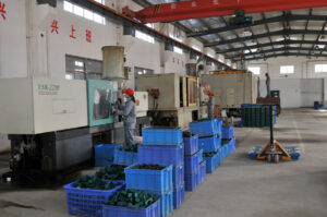 pipe clamp plastic injection factory workshop
