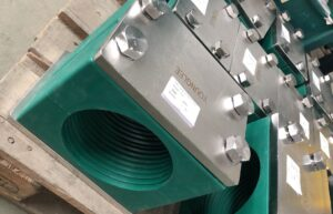 Stainless steel pipe clamp-hydraulic