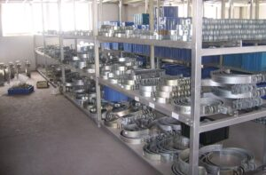 Steel pipe clamps manufacturer warehouse