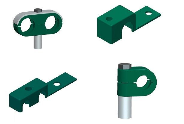 small tube clamps